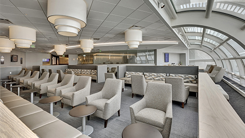 View of the sitting area in the lounge