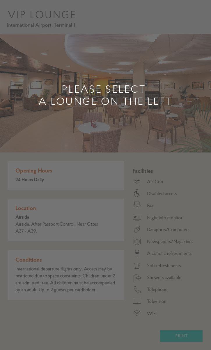 Lounge Finder Image