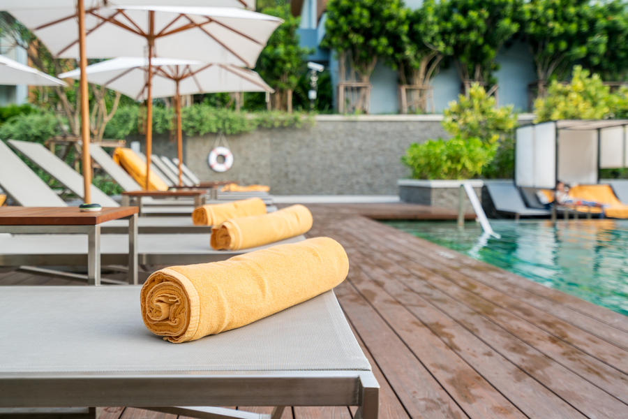 Some hotels will provide you with beach or pool towels, meaning you won't need to bring your own from home