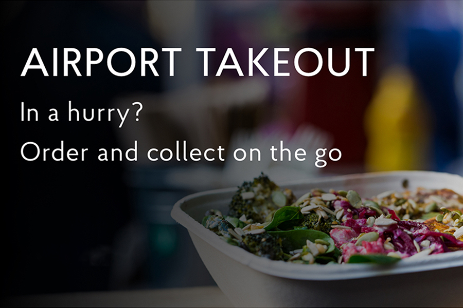 Try it out on your next visit to the airport