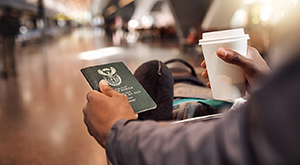 Airport Takeout means you can grab your food and go, perfect if you're in a rush