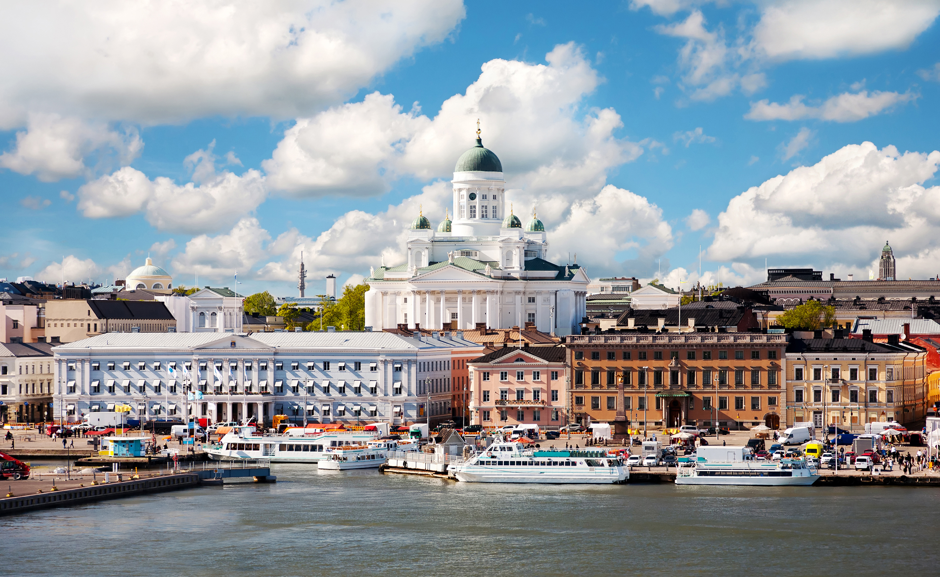 Helsinki's attractive and unique character comes from its proximity to the sea, as well as its location between the East and the West