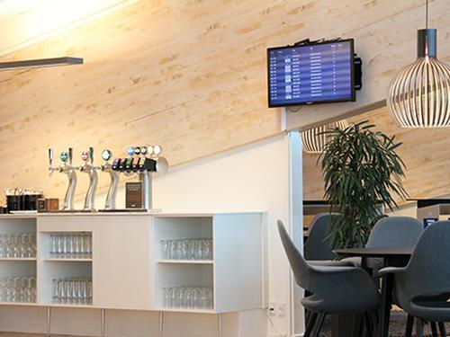 Aalborg Airport Lounge_Denmark