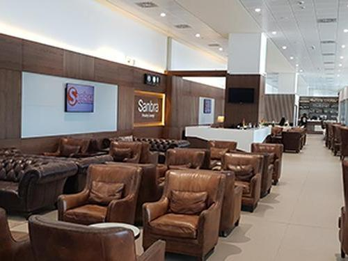 Sanbra Priority Lounge, Accra Kotoka International, Ghana