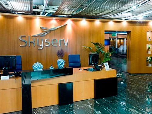 Skyserv Aristotle Onassis Lounge, Athens International, Greece