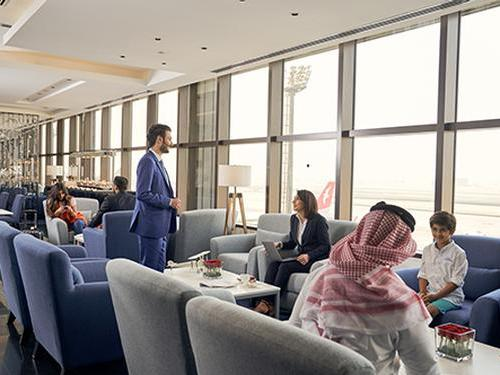 Hala - Main Lounge, Bahrain International, Bahrain