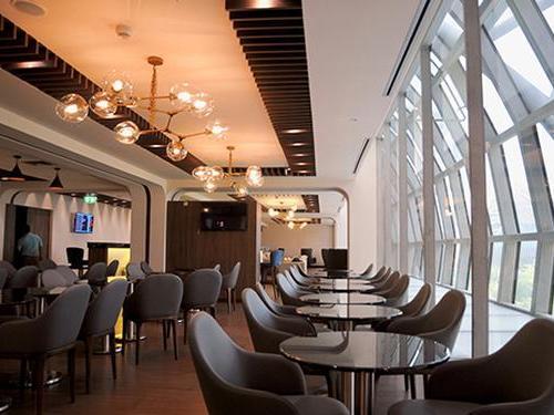 Turkish Airlines Lounge, Bangkok Suvarnabhumi Intl, Thailand