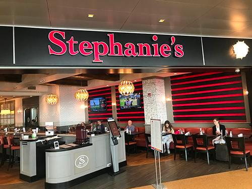 Stephanie's, Boston MA Logan International, USA