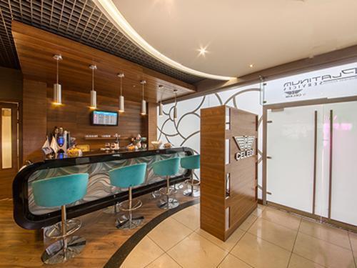 Platinum Lounge, Budapest Lisyt Ferenc International, Hungary