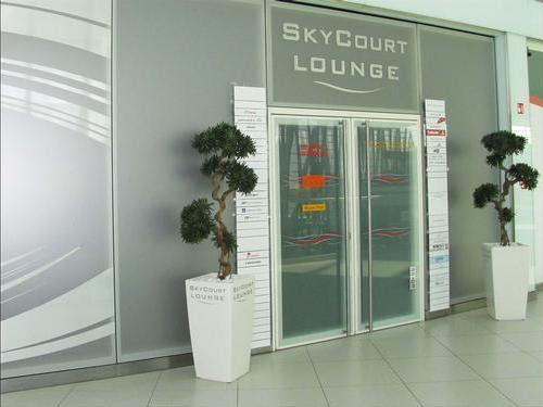 SkyCourt Lounge, Budapest Liszt Ferenc