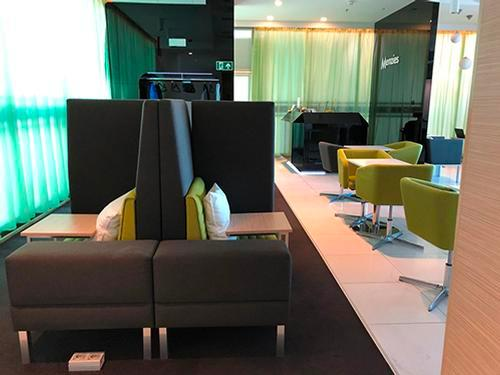 Menzies Aviation Lounge, Budapest Liszt Ferenc Intl, Hungary