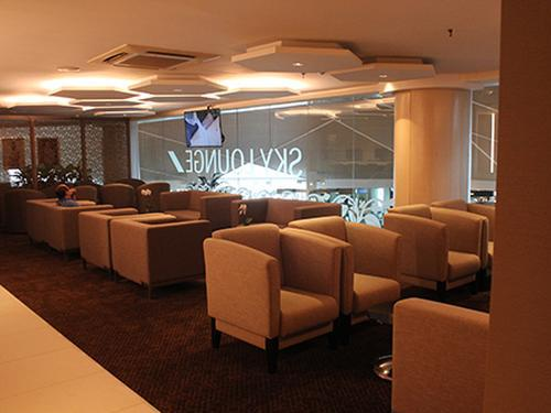 Royal Brunei's Sky Lounge, Bandar Seri Begawan Brunei International, Brunei