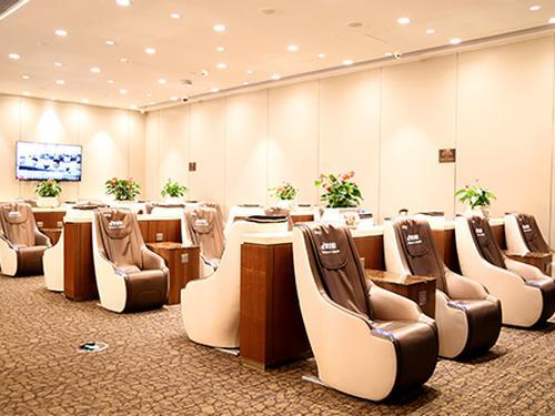 Easy-boarding Lounge, Guangzhou Baiyun International, China