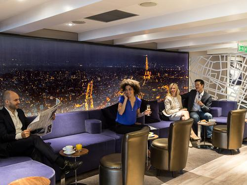 Star Alliance Lounge, Paris Charles de Gaulle