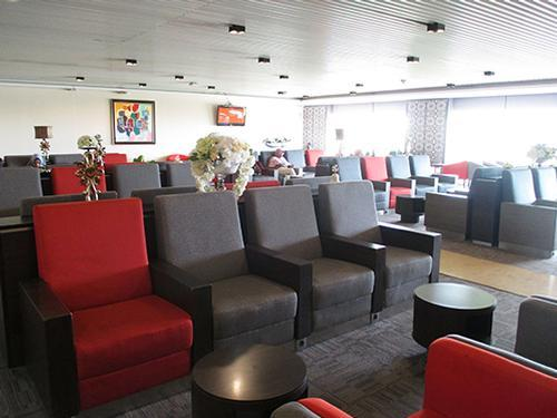 Transfer Lounge, Jakarta Soekarno-Hatta International, Indonesia