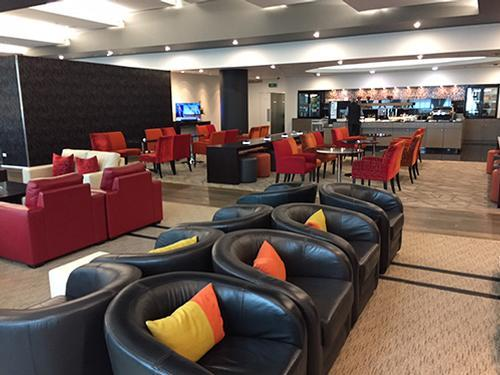 Manaia Lounge, Christchurch Intl, New Zealand