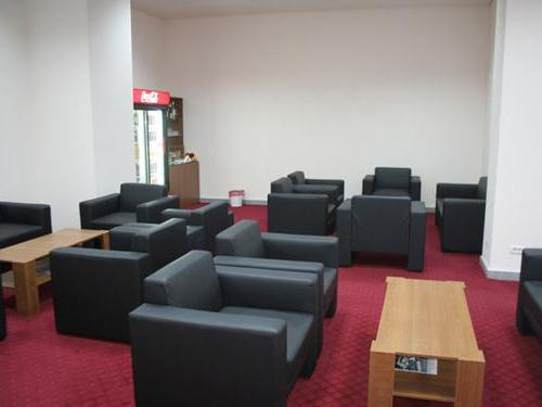 Business Lounge, Cluj-Napoca International, Domestic Terminal, Romania