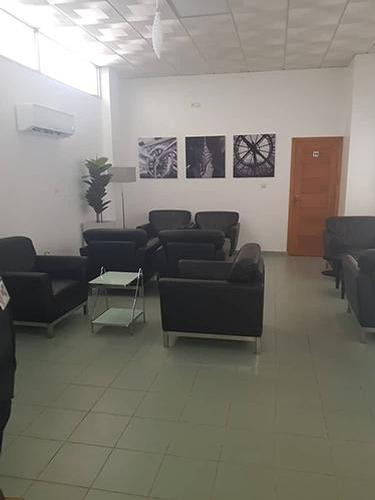 Salon Plus Arrivee, Cotonou Cadjehoun International, Benin