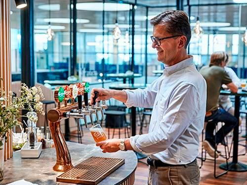 Carlsberg Aviator Lounge_Copenhagen Kastrup_Denmark