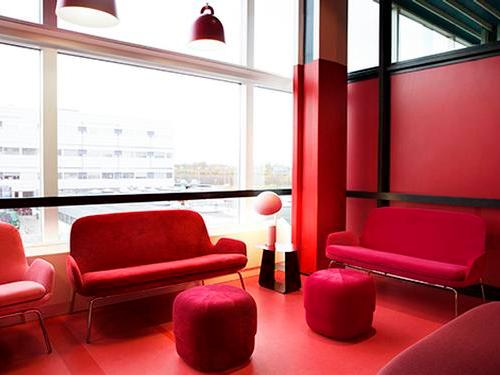 Atelier - The Colorful Aviator Lounge_Copenhagen Kastrup_Denmark