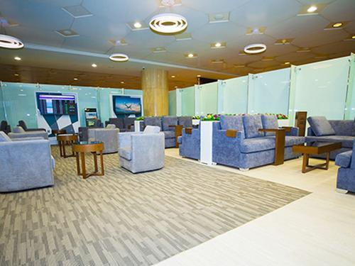 naSmiles Lounge, Dammam King Fahad International, Saudi Arabia