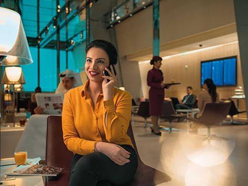 Al Maha Services Transit Lounge