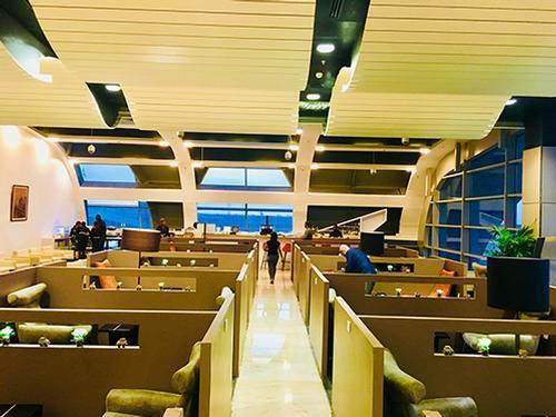 Salon Odyssee Lounge, Dakar Blaise Diagne Intl, Senegal