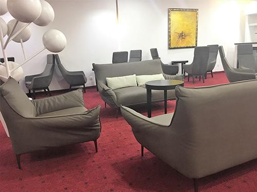 Salon Infinite, Dakar Blaise Diagne Intl, Senegal