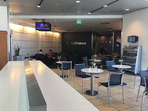 Lufthansa Business Lounge, Detroit MI Metropolitan Wayne County, USA