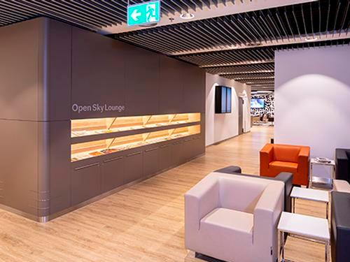 Open Sky Lounge, Duesseldorf International, Germany
