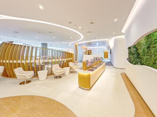 Aeroporto Internacional de Dubai DXB Terminal 1 Saguão D
