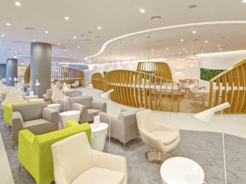 SkyTeam Lounge, Dubai International