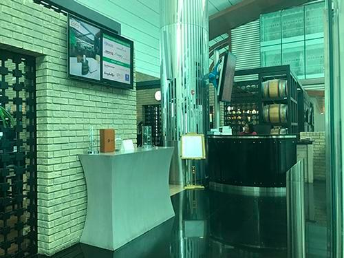 Ahlan Lounge at B, Dubai Intl, UAE