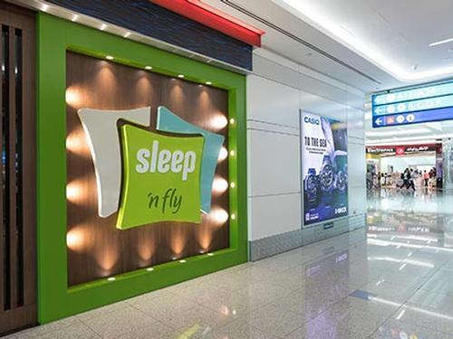 Sleep N Fly - The New Airport Sleep Concept by YAWN, Dubai International