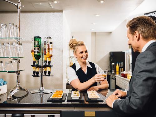 Aspire Lounge, Edinburgh International