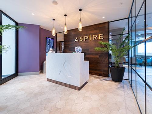 Aspire Lounge_Edinburgh Intlernational_UK