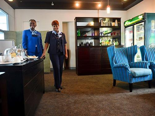 Pula Lounge, Gaborone Sir Seretse Khama International, Botswana