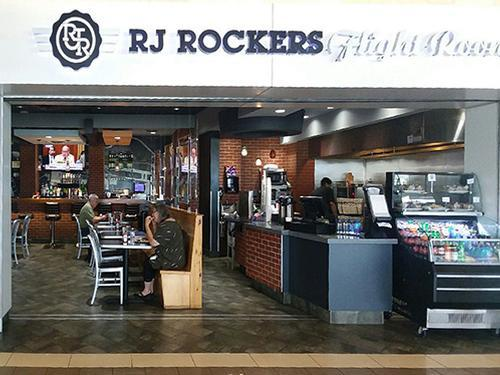 RJ Rockers Flight Room, Greenville-Spartanburg SC Intl, USA