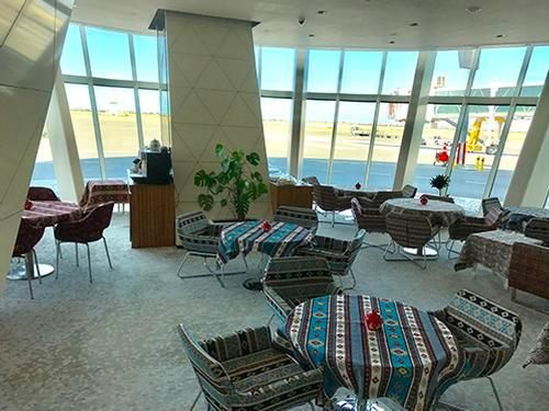 Khazri Lounge_Baku Heydar Aliyev Intl_Azerbaijan