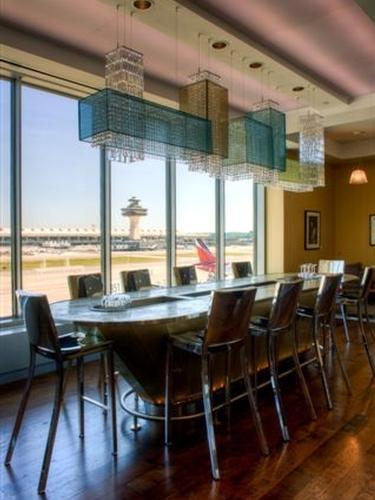 British Airways Galleries Lounge, Washington DC Dulles International