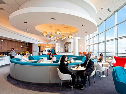 Air France - KLM Lounge_Washington DC Dulles Intl_USA