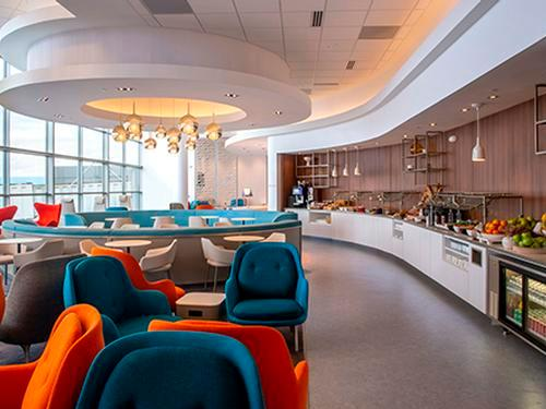 Air France - KLM Lounge_Washington DC Dulles Intl_USA
