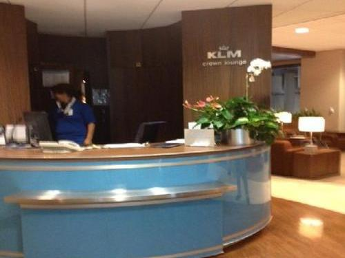 KLM Crown Lounge, Houston TX Intercontinental, USA
