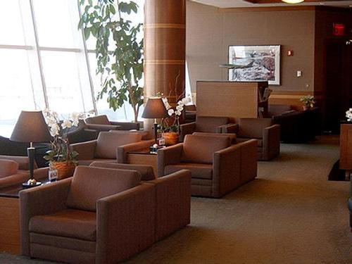 Kal Business Class Lounge, JFK