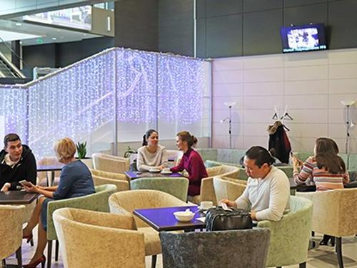 Air Lounge, Kazan Intl, Russia