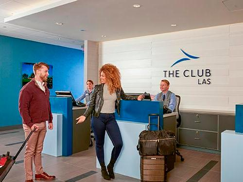 The Club at LAS, Las Vegas NV Intl, USA