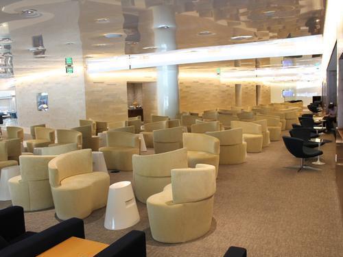 Skyteam Kal Business Class Lounge, Tom Bradley International LAX