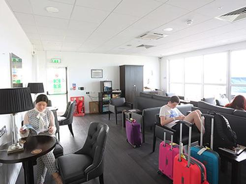 Amelia Earhart Lounge, City of Derry Airport, UK