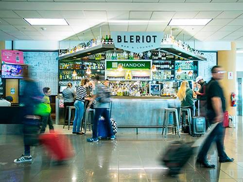 Bar Bleriot, Lima Jorge Chavez Intl, Peru