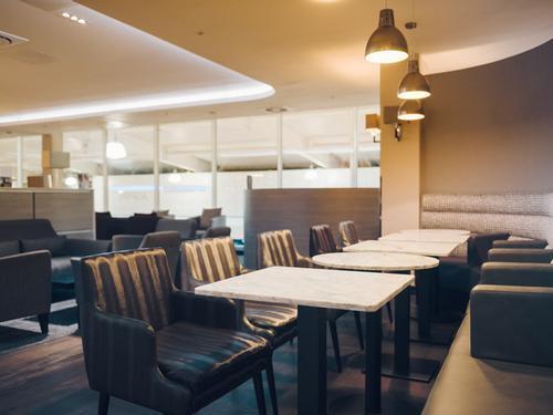 Servisair Lounge, London Luton